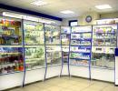торговое оборудование для аптек и аптечных салонов