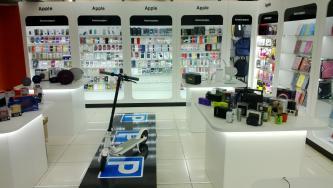торговое оборудование для мобильных аксессуаров